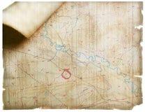 Treasure map Royalty Free Stock Photography