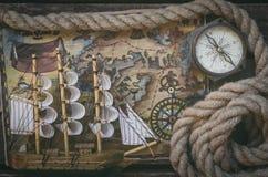 Treasure map. royalty free stock photography