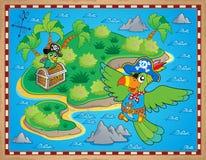 Treasure map theme image 9 Royalty Free Stock Photo