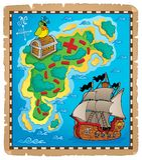 Treasure map topic image 5 Royalty Free Stock Image