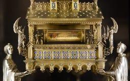 Treasure of Notre Dame de Paris Cathedral Stock Photos