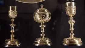 Treasure of Notre Dame de Paris Cathedral Royalty Free Stock Photos