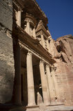 The  treasure in Petra. Jordan Royalty Free Stock Photo