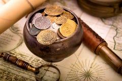 Treasure pot Royalty Free Stock Photography