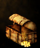 Treasure's Chest Royalty Free Stock Photo