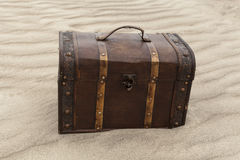 Treasure In The Sand Stock Image