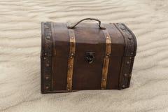 Treasure In The Sand Stock Image