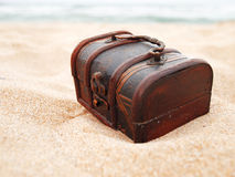 Treasure in the sand Stock Photography