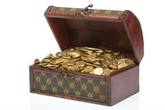 Treasure - side view Royalty Free Stock Images