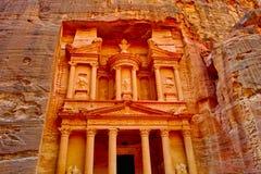 Treasure trove. The so called treasure trove in Petra Jordania 2010 Royalty Free Stock Photos