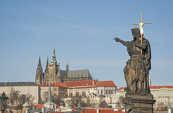 Treasures of Prague Stock Photo