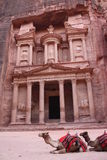 Treasury or Al-Khazneh - Petra Royalty Free Stock Photos