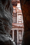 Treasury (al-khazneh), Petra, Jordan Stock Photography