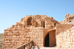 The Treasury in the ancient Jordanian city Stock Photography