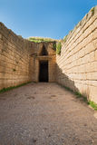 Treasury of Atreus Royalty Free Stock Images