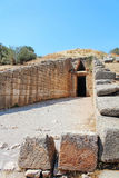 Treasury of Atreus in Mycenae Royalty Free Stock Photos