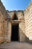 Treasury of Atreus Tomb of Agamemnon Mycenae Greece Stock Photography
