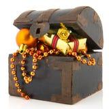 Treasury box for Christmas Stock Photos