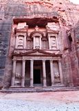 The Treasury Building at Petra Royalty Free Stock Photography