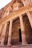 The Treasury Building at Petra Stock Photos