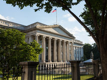 Treasury Building Washington DC Stock Photography