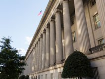 Treasury Building Washington DC Royalty Free Stock Photo