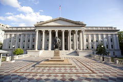 The treasury department building Royalty Free Stock Images