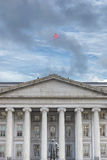 Treasury department building in washington Stock Images