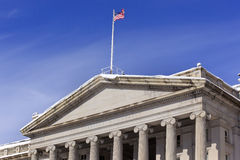 Treasury Department Washington DC Royalty Free Stock Photography