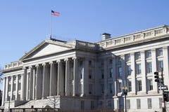 The Treasury Department Stock Photo