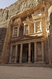 Treasury facade in Petra Royalty Free Stock Photos