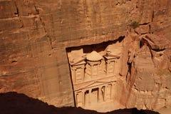 Petra Treasury from above stock photos