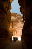 The Treasury at Petra Royalty Free Stock Image