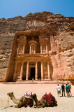 Treasury at Petra Stock Photo