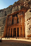The treasury, Petra Stock Image