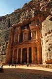 The treasury, Petra. Jordan, Middle East Stock Image