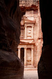 The Treasury in Petra Royalty Free Stock Photos