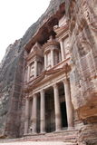 Treasury at Petra. Jordan, Middle East stock photo