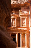 The Treasury in Petra Stock Images