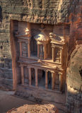 Treasury of Petra Royalty Free Stock Photo