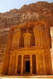Treasury of Petra Royalty Free Stock Images