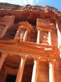 Treasury in Petra Stock Photo
