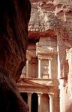 The Treasury of Petra Stock Photos
