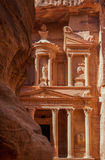 The treasury in Petra Royalty Free Stock Photo