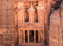 The treasury in Petra Stock Photos