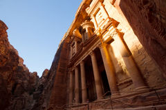 The Treasury, Petra Stock Photo