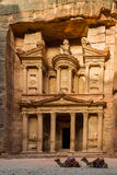 Treasury at Petra Royalty Free Stock Photography