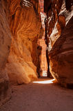 The Treasury, Petra, Jordan. The Treasury in Petra, Jordan Stock Photography