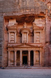 The Treasury, Petra, Jordan. The Treasury in Petra, Jordan Stock Photo