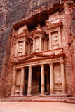 The Treasury, Petra, Jordan. Temple royalty free stock photography